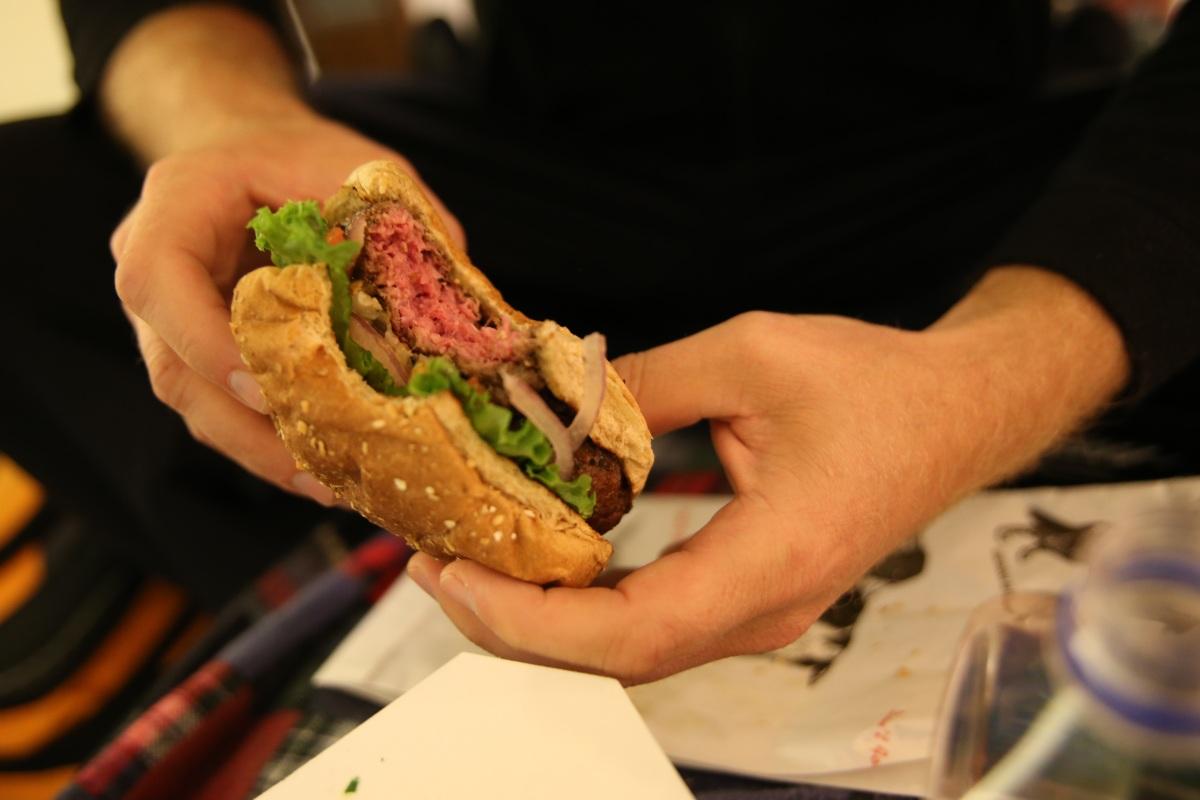 Burger in Vermont.