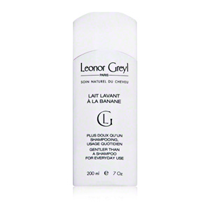 Leonor Greyl Lavant A Banane A different way to shampoo, for fluffy energized locks.