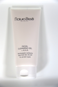 Natura Bisse Facial Cleansing Gel + A.H.A. Soothing, astringent, smoothing and awakening to the skin.