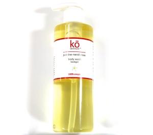 Ko Denmark Body Wash  Jasmine, rose, neroli, all natural skin silkening purity.