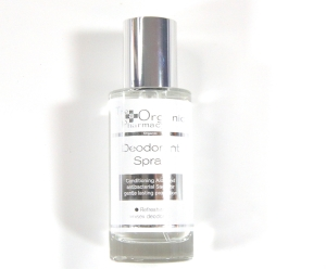 The Organic Pharmacy Deodorant Spray All natural, non toxic, yet strong odor protection